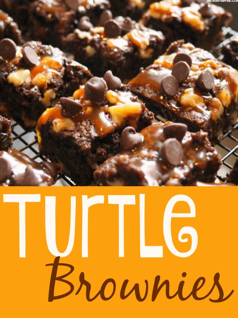 Turtle Brownies, brownie recipe