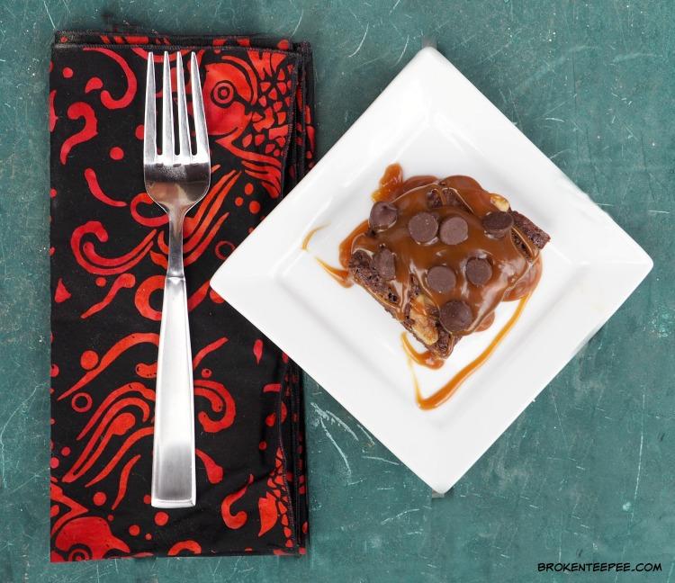Turtle Brownies, brownie recipe