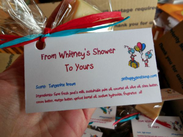 favor soaps, Happy Goat Soap, Blogaversary Celebration