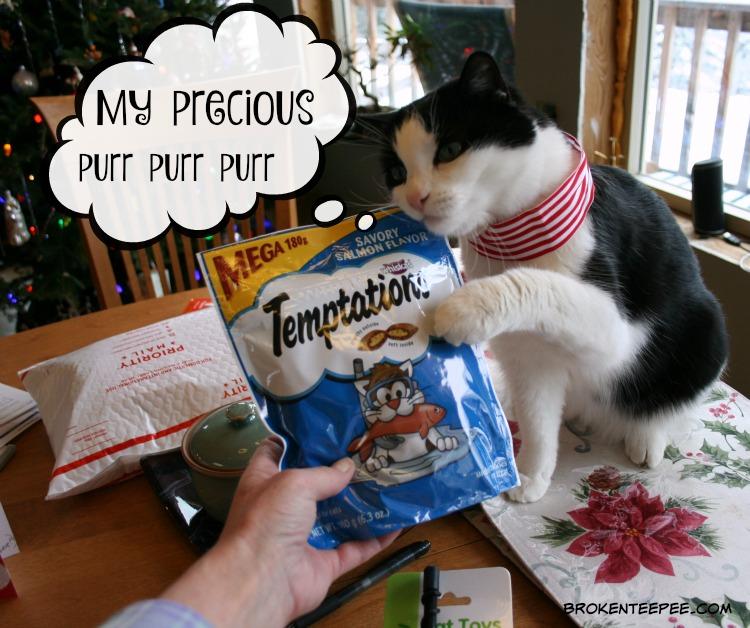 Chewy.com, Harry the Farm cat, Temptations Cat Treats, Snacky Mouse, AD