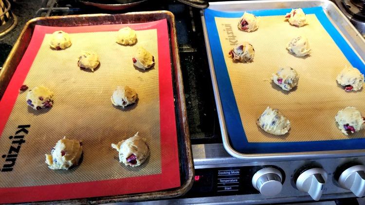 Cherry Vanilla Chip Cookies, cherry recipe