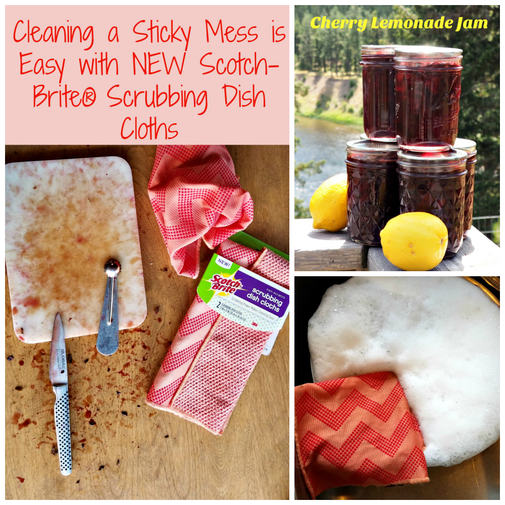 Scotch-Brite® Scrubbing Dish Cloth, easy cleaning, #ScrubCloth, #CollectiveBias, #AD