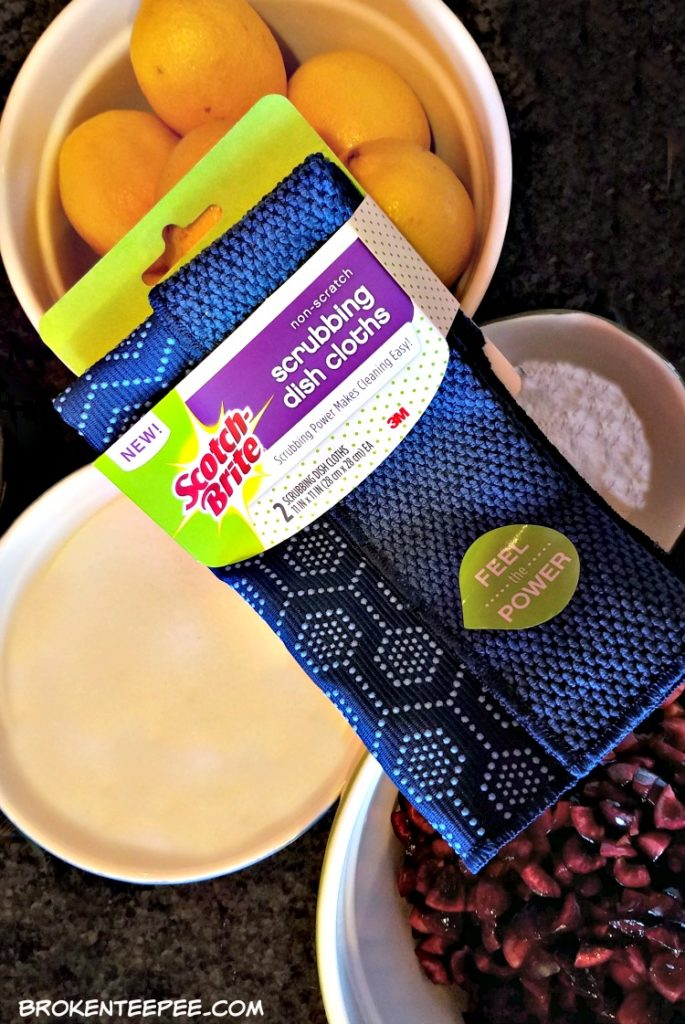 Scotch-Brite® Scrubbing Dish Cloth, easy cleaning, jam making mise en place, #ScrubCloth, #CollectiveBias, #AD
