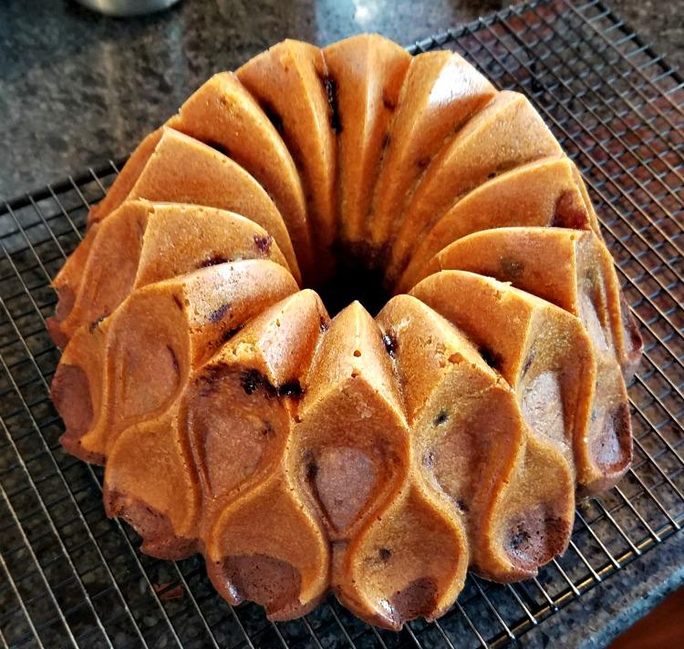 Chocolate Walnut Cherry Bundt Cake Recipe