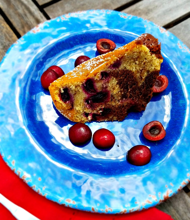 Chocolate Walnut Cherry Bundt Cake Recipe