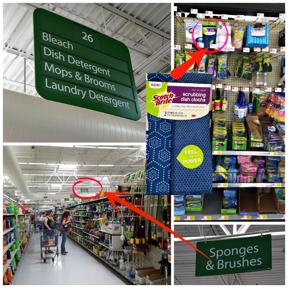 Scotch-Brite® Scrubbing Dish Cloth, easy cleaning, Scotch-Brite Scrubbing Dish Cloth at Walmart, #ScrubCloth, #CollectiveBias, #AD