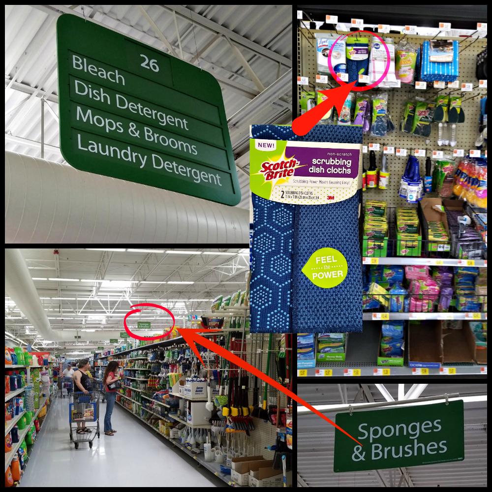Scotch-Brite® Scrubbing Dish Cloth, easy cleaning, Scotch-Brite Scrubbing Dish Cloth at Walmart, #ScrubCloth, #CollectiveBias, #AD