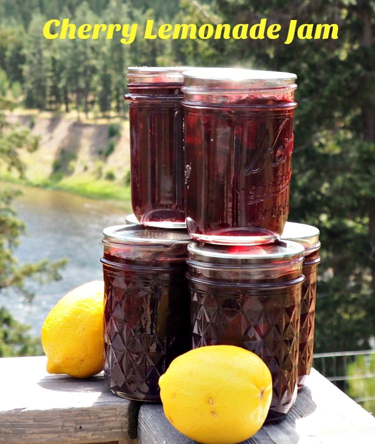 Scotch-Brite® Scrubbing Dish Cloth, easy cleaning, Cherry Lemonade Jam recipe, #ScrubCloth, #CollectiveBias, #AD