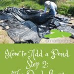 How to Add a Pond, adding a duck pond, the pond liner, smartpond, #ad