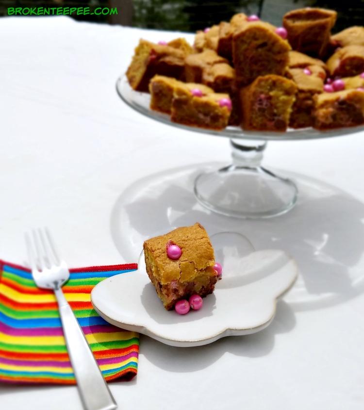 Celebration by Frey, candy buffet, Sixlets Blondies, #CelebrationCandyBuffet, #AD