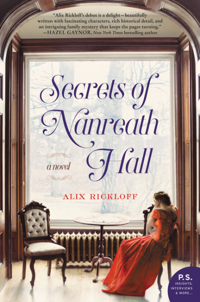 Secrets of Nanreath Hall by Alix Rickloff – Blog Tour and Book Review