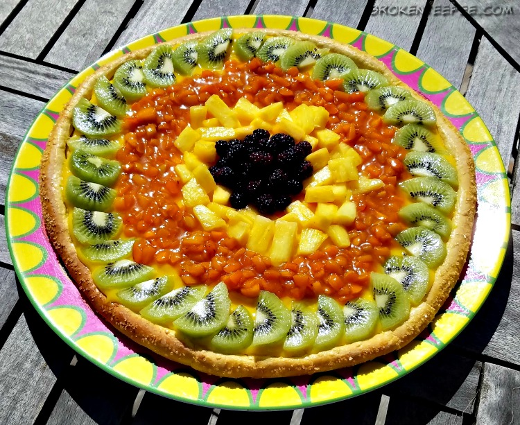 apricot recipes, fruit pizza, ,dessert pizza, cheesecake, apricot sauce