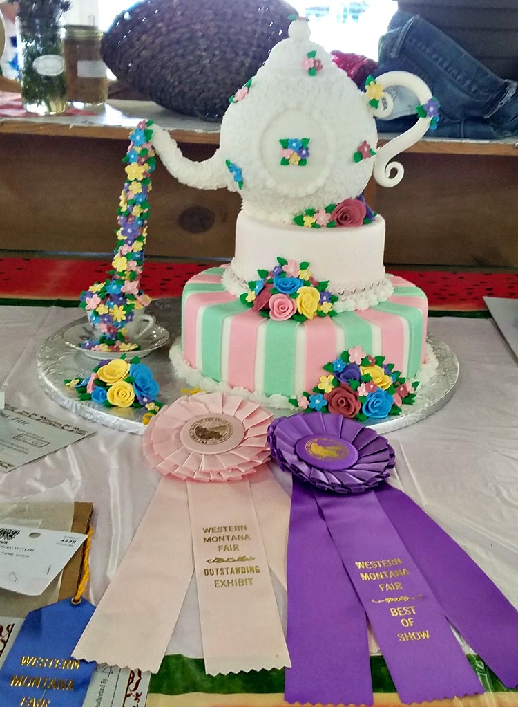 Western Montana Fair, what to do in Missoula, teapot cake