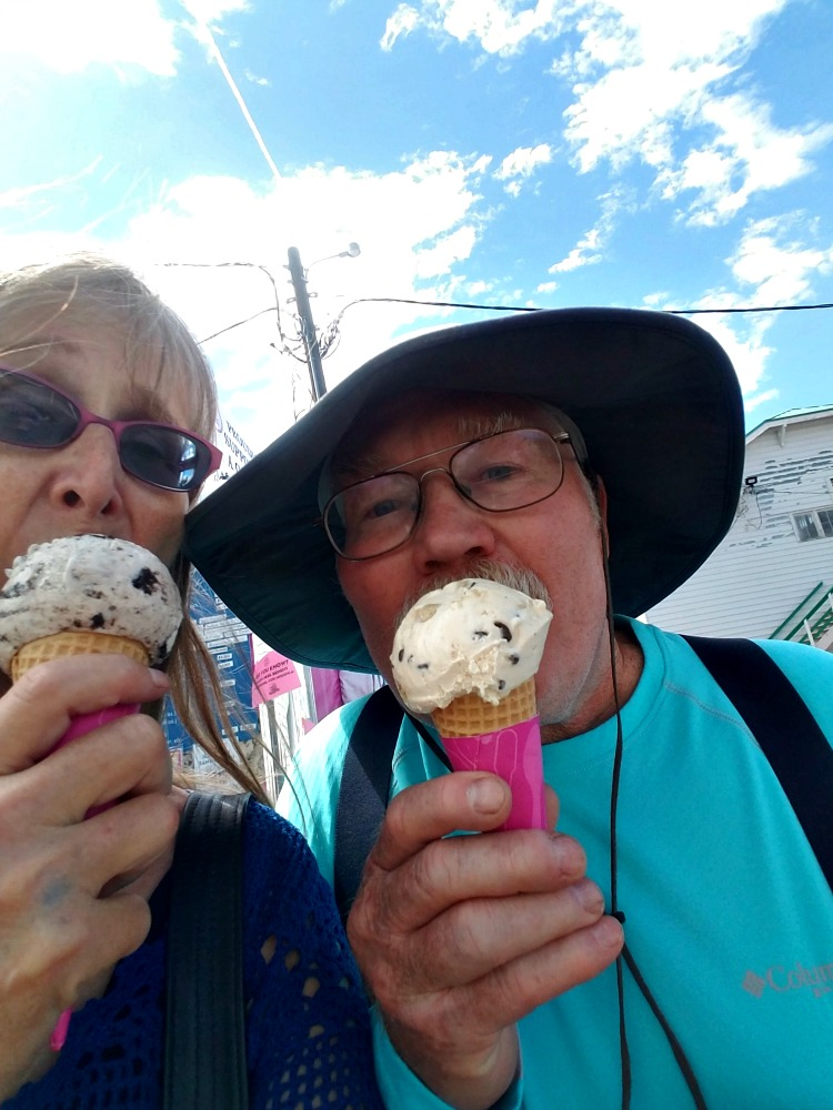 Western Montana Fair, what to do in Missoula, eating ice cream