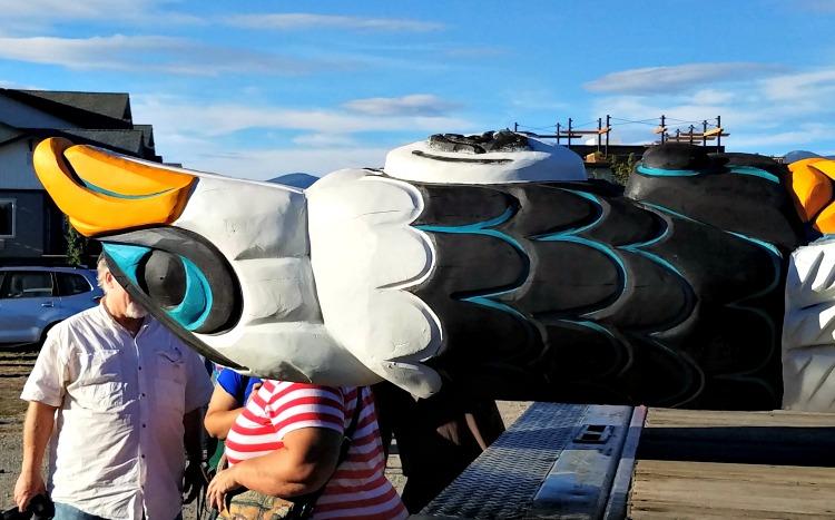 Totem Pole Journey, Lummi Nation, Jewell James