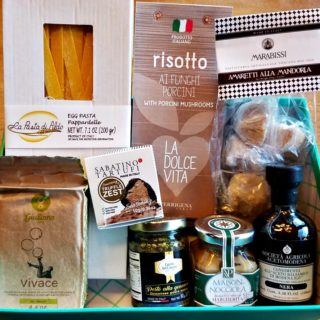 Try the World Box Italy, Pasta with Cabbage, Onions and Bacon, #AD