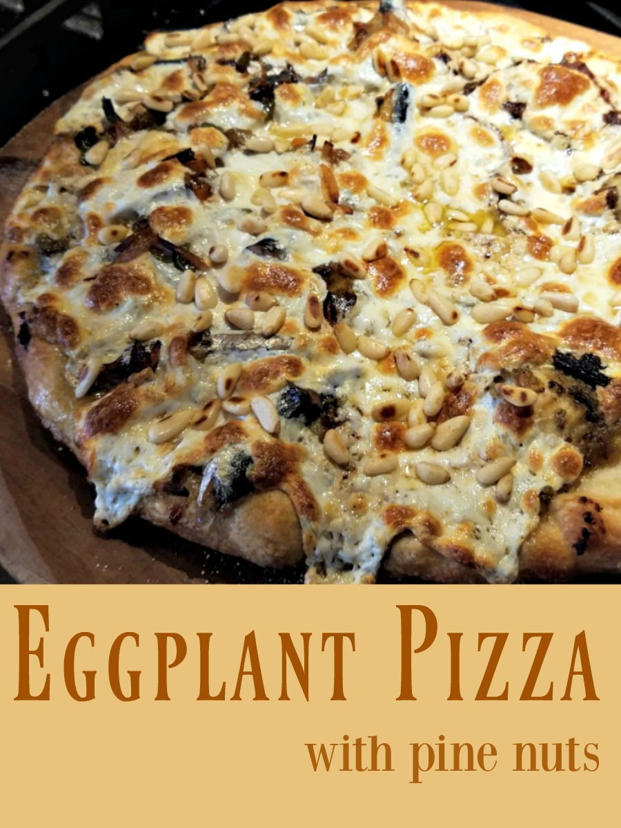 The Eggplant Harvest - Time for Eggplant Pizza - Broken Teepee