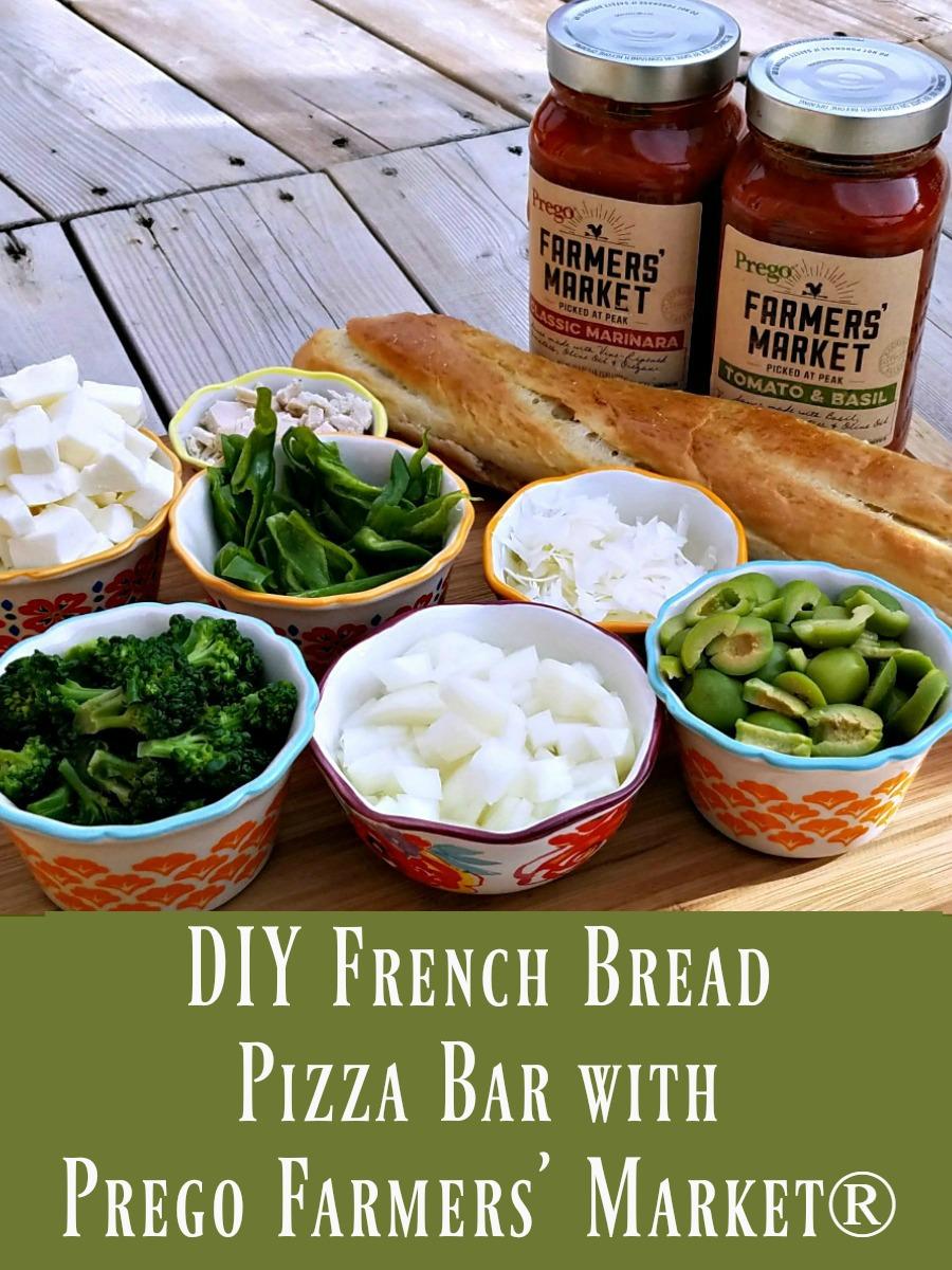 Prego Farmers' Market, French Bread Pizza Bar, #PickedAtPeak, #SocialFabric, #AD