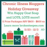 Chronic Illness Bloggers Holiday Giveaway!