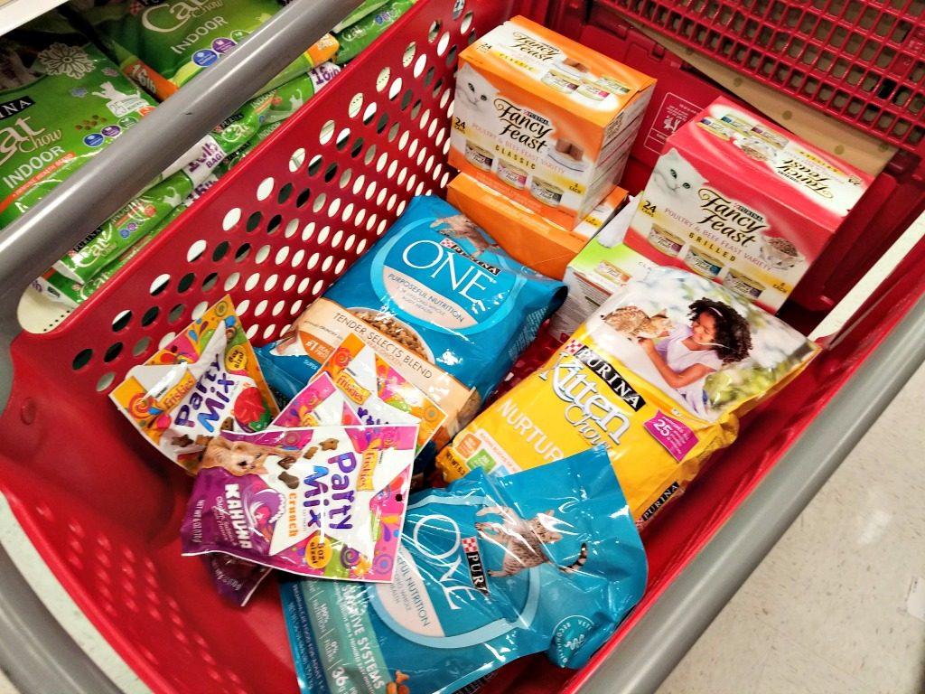 Purina savings, Target, shopping cart, #Txt4Pet, AD