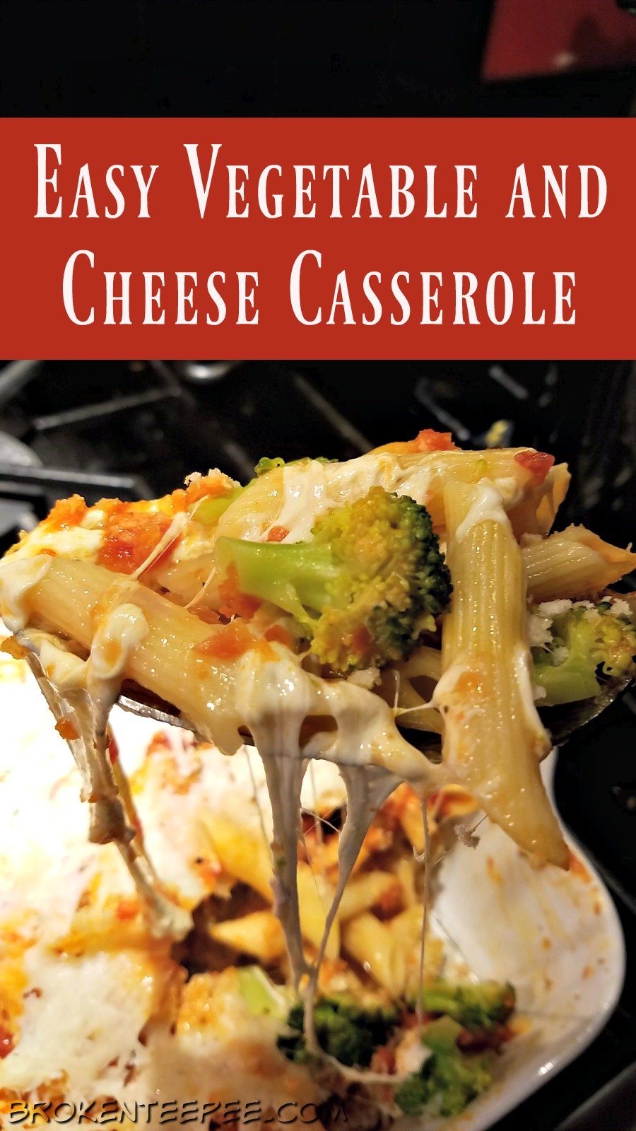 Easy Vegetable and Cheese Casserole, Leftover Recipe