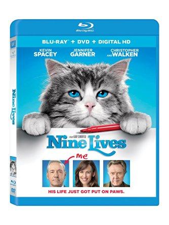 Nine Lives DVD. AD