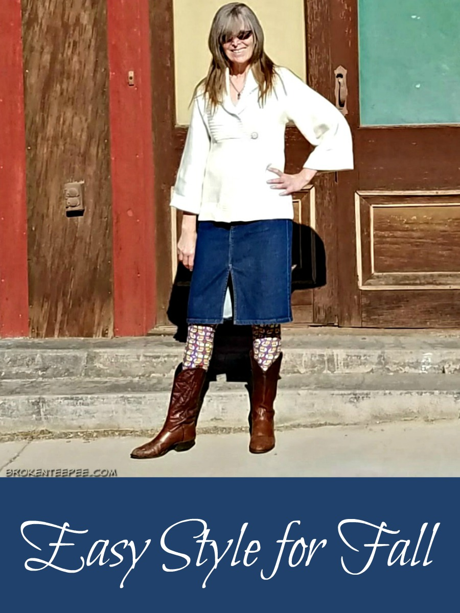 easy Fall style, ThredUp