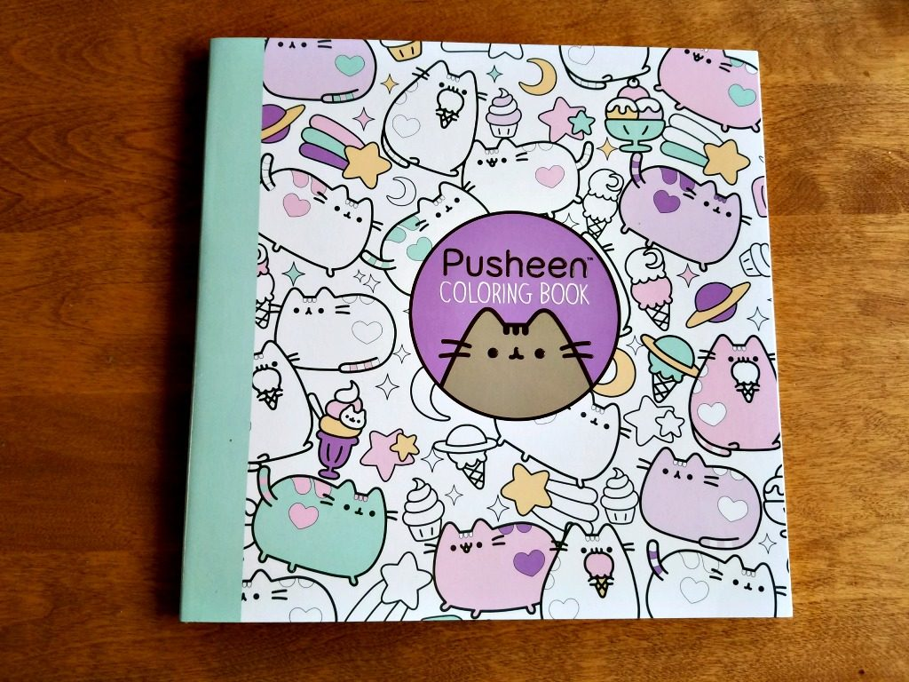 Pusheen Adult Coloring Book Giveaway