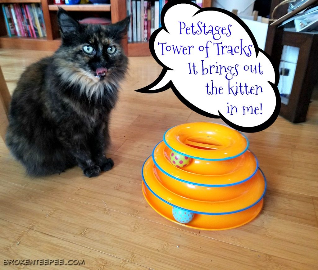 Pet Stages Tower of Tracks, Chewy.com, gift for cats, #AD