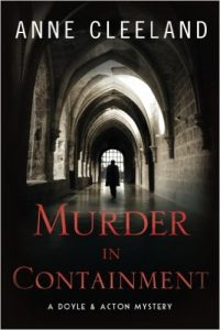 murder in containment by anne cleeland
