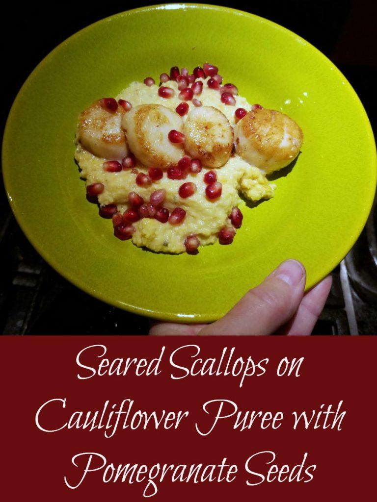 seared scallops, scallop recipe