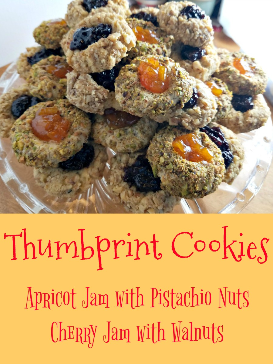 Thumbprint Cookies, classic cookies, classic cookie recipes, Christmas cookies, baking cookies