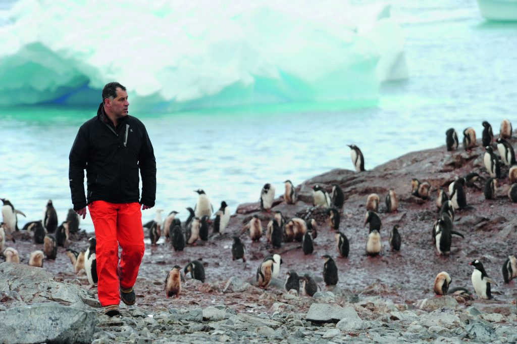 interview with Luc Jacquet, Antarctica Ice and Sky