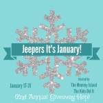 Jeepers it's January Giveaway Hop – Win a Box of Books