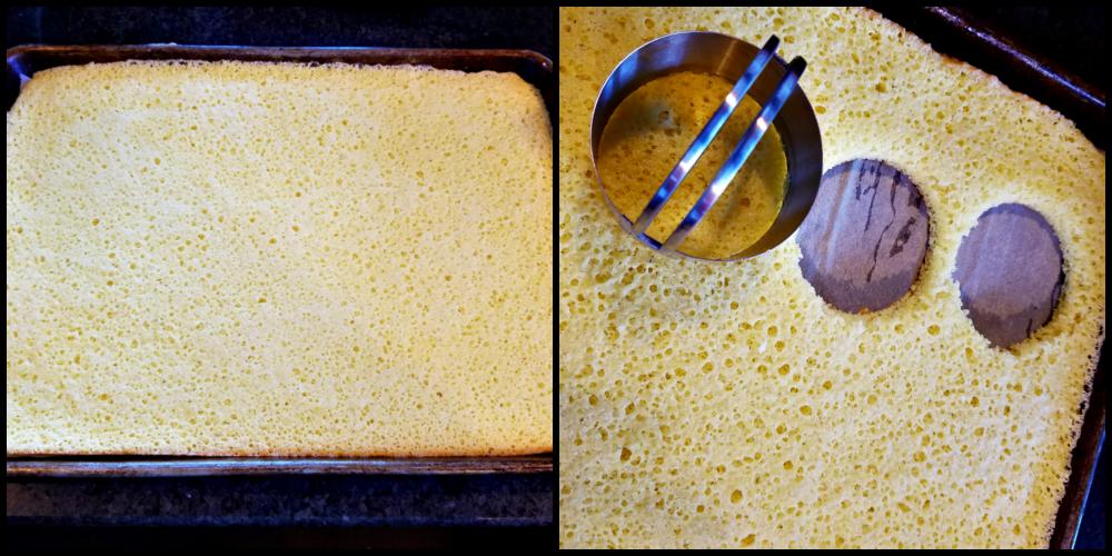 Vanilla Cake with Salted Chocolate Mousse, Celebration Dessert, Chocolate Dessert