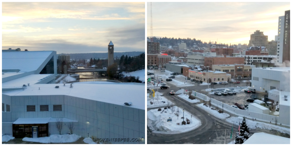 romantic getaway in spokane, Doubletree by Hilton City Center Spokane
