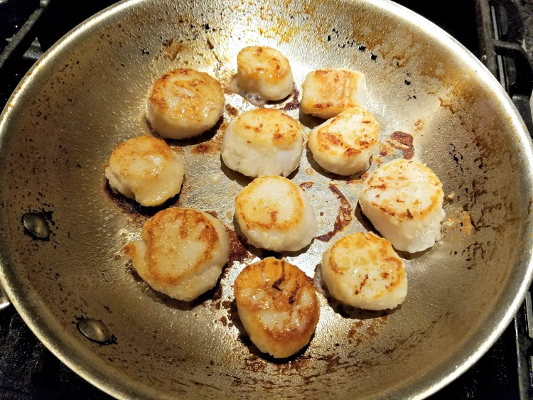 Scallops Recipe, A Twist on an Old Favorite,Scallops Picatta