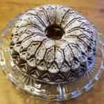 orange cranberry chip bundt cake