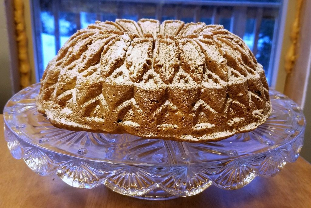 orange cranberry chip bundt cake, bundt cake, celebration cake