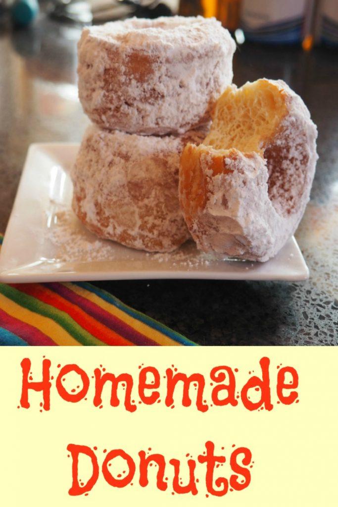 homemade donuts