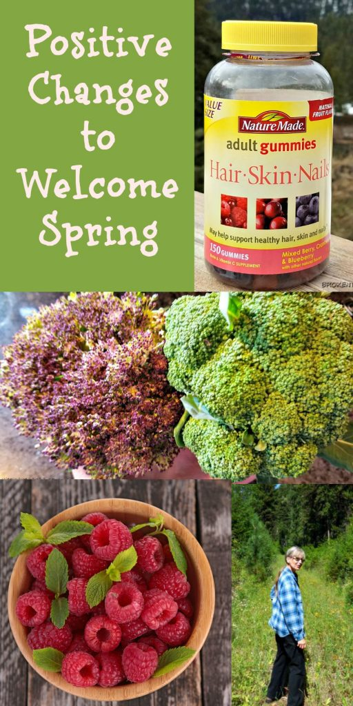 Nature's Made, positive changes to welcome spring, #OneUpYourHealth #IC,,#AD