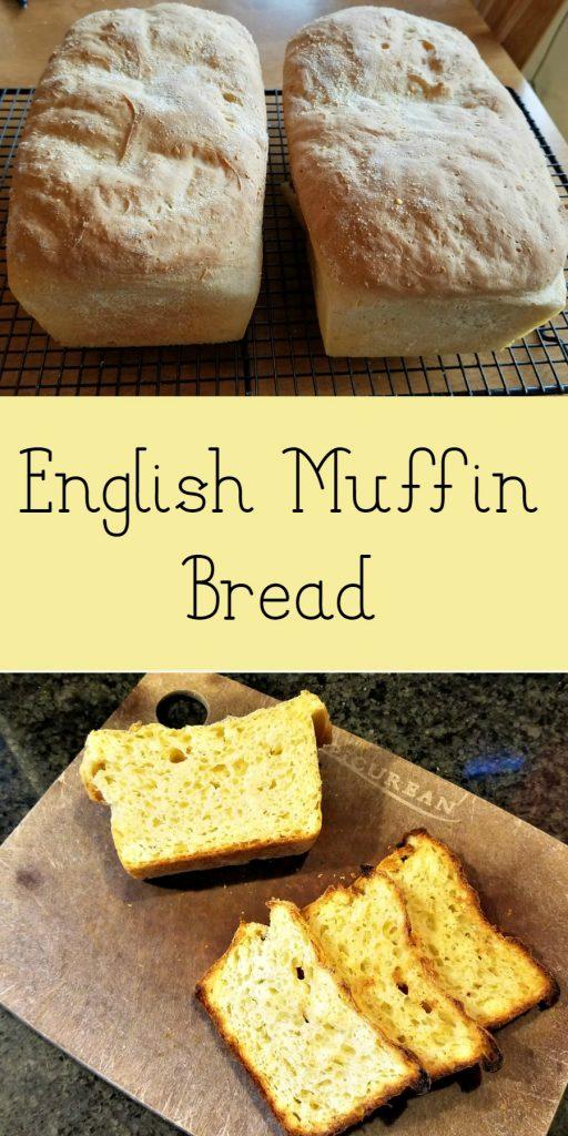 Amish Community Cookbook, English Muffin Bread