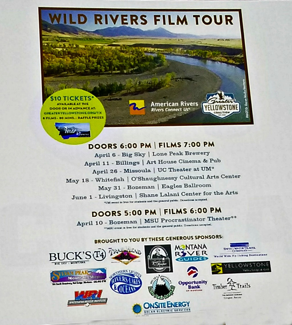Gyros and Heroes – A Night Out to Learn About Wild and Scenic Rivers