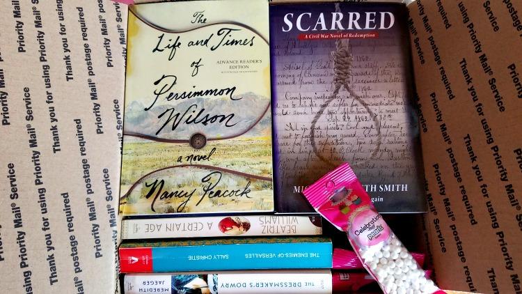 Rain Rain Go Away, Box of Books, Giveaway Hop