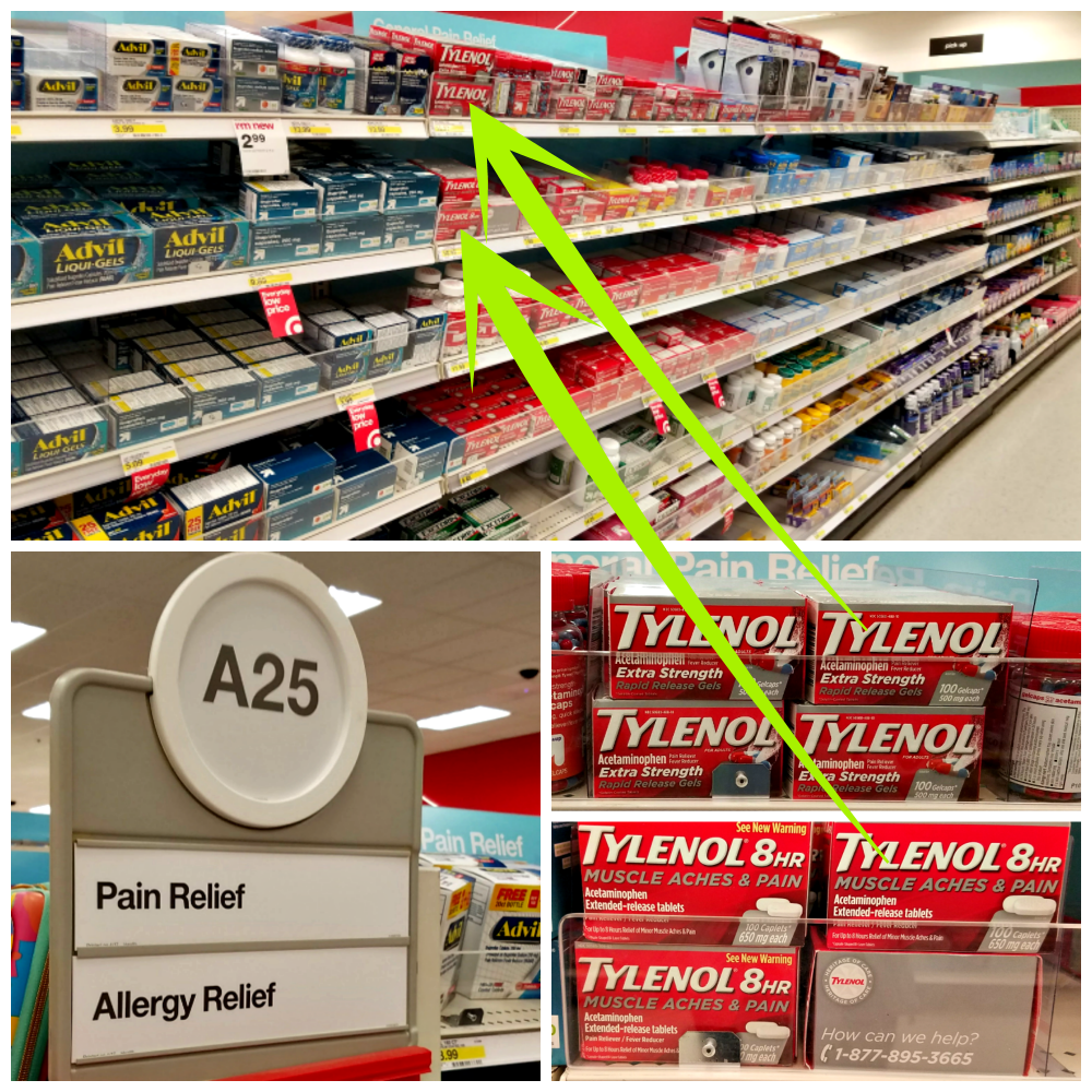 help aches and pains, TYLENOL®, Target, #ForWhatMattersMost, #AD