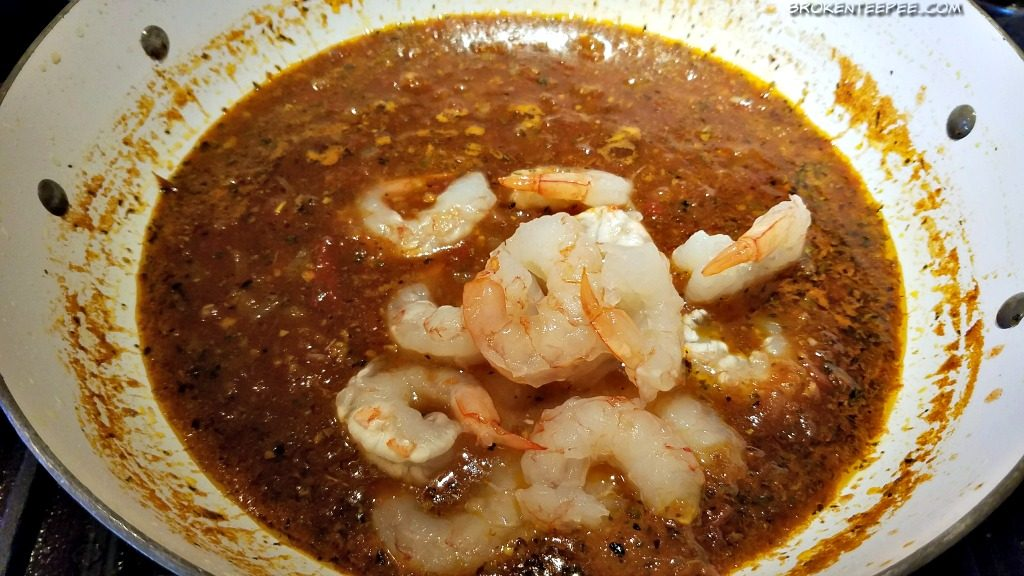 Cuban Style Shrimp Creole on Cuban Yellow Honey Rice, Gumbo Love by Lucy Buffet, AD