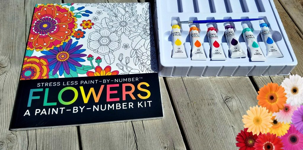Stress Less Paint by Number Kit, AD