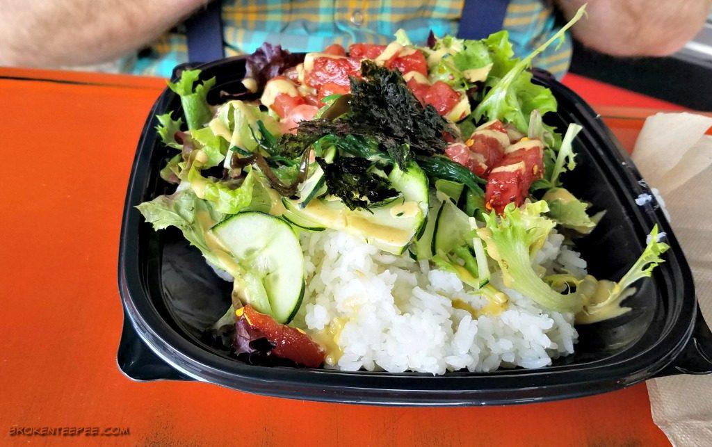 The Poke Sushi Bowl, restaurant review, Missoula Montana