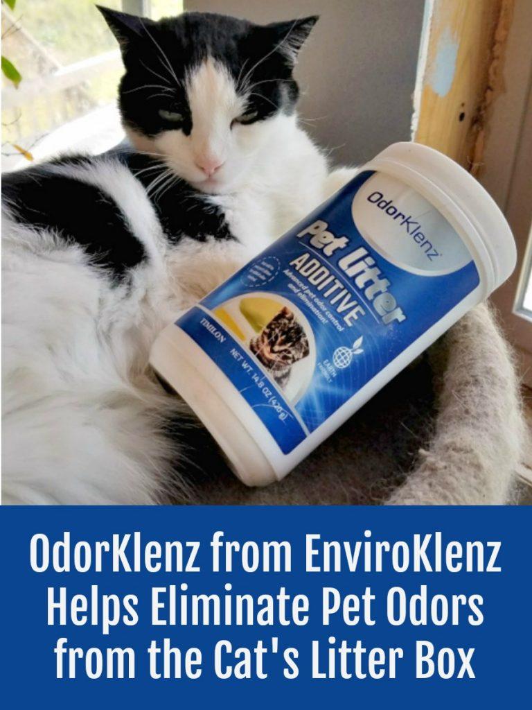 earth friendly, litter box odor removal, OdorKlenz, #EnviroKlenz, #NonToxic, #MultipleChemicalSensitivity #AD