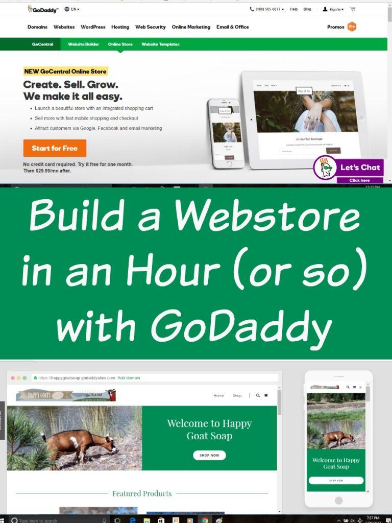 GoDaddy Website Builder, GoDaddy GoCentral, #GoCentral #GoDaddy AD